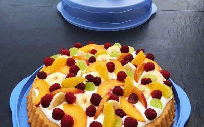 erfrischende Früchtetarte