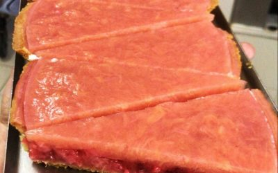 Rhabarber-Erdbeere Tarte