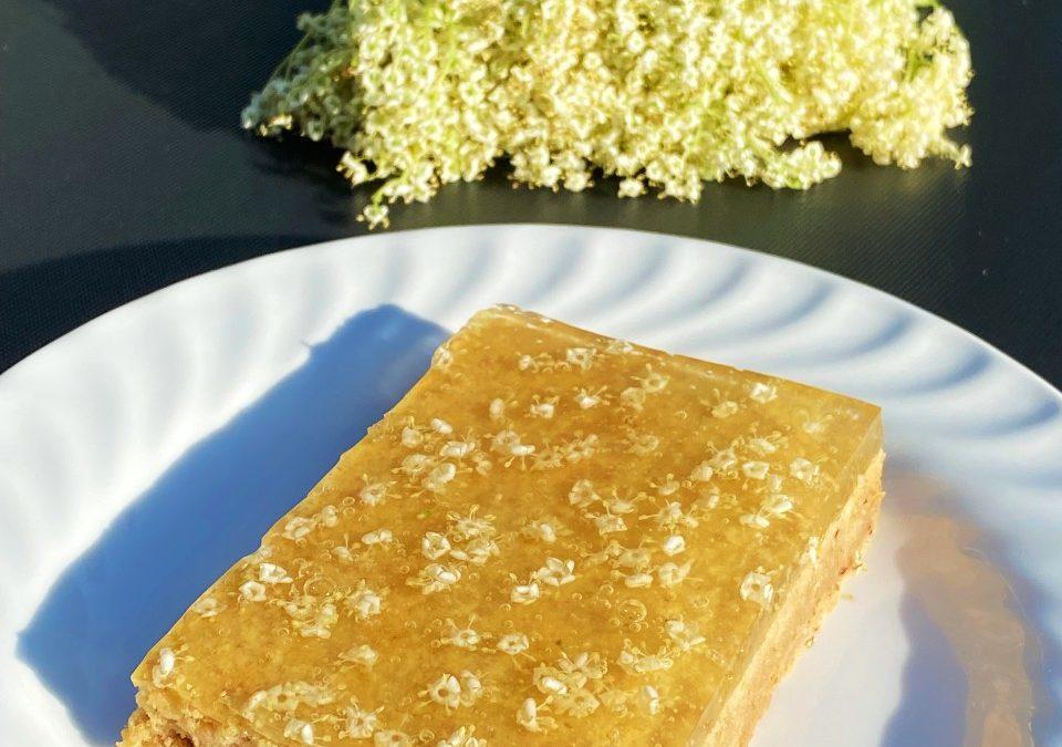 Topfen-Holunder Kuchen